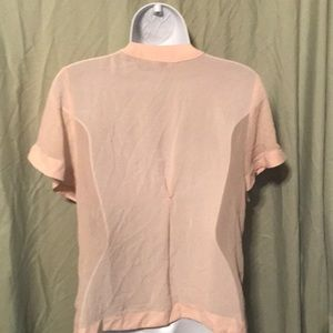 Forever 21 Tops - Blouse cream colored with silver embellishments